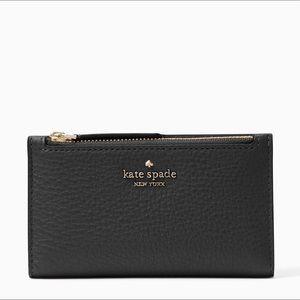 Kate Spade Jackson Small Bifold Wallet Black